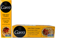 Carr's Roasted Garlic & Herbs water crackers 125 gr., 12/cs..