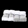 Tendertyme 2 Pair socks in a mesh bag - GREY 0-6 Months, 75% Cotton/23% Polyester/ 2% Spandex
