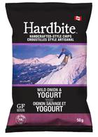 Hardbite Wild Onion & Yogurt Chips 50 gr., 30/cs