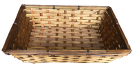 """Large bamboo tray 15""""x11""""x3.75""""H"""