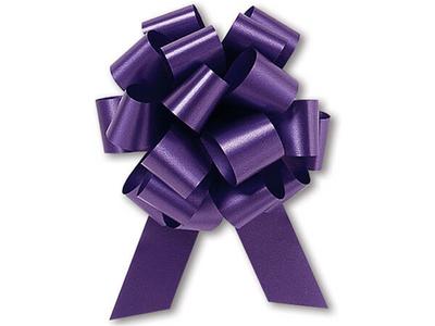 """5"""" Matte Pull Bows - 50 bows/case - PURPLE"""