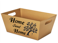 Large Market tray - HOME SWEET HOME