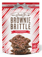 Sheila G's Holiday Pack Brownie Brittle – Peppermint 113 gr. 12/cs