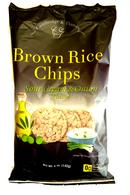 Cambridge & Thames Brown Rice Chips - Sour Cream & Onion flavour 142 gr., 12/cs
