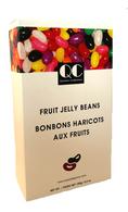 Qustom Confections Fruit Jelly Beans 150 gr., 18/cs