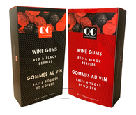 Qustom Confections Wine Gums - Red & Black Berries 100 gr., 18/cs