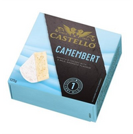 Castello Rosenborg Danish camembert cheese 125 gr. 12/cs