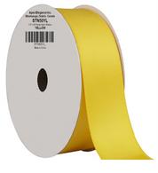 "1.5"" Wide Satin ribbon, 50 yards - YELLOW"