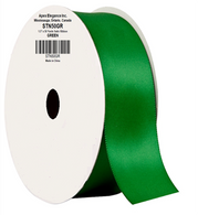 "1.5"" Wide Satin ribbon, 50 yards - GREEN"