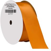 """1.5"""" Wide Satin ribbon, 50 yards - ORANGE"""