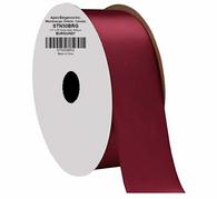 "1.5"" Wide Satin ribbon, 50 yards - BURGUNDY"