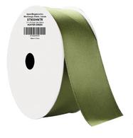 "1.5"" Wide Satin ribbon, 50 yards - HUNTER GREEN"