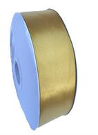 "1.5"" Wide Satin ribbon, 50 yards - GOLD"