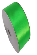"""1.5"""" Wide Satin ribbon, 50 yards - LIME GREEN"""