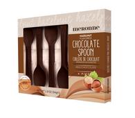 Meronne milk chocolate Hazelnut 6pack spoons - 75 gr., 15/cs