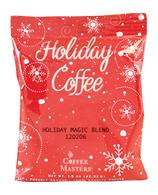 Coffee Masters Holiday Magic freshly ground Arabica Coffee 42 gr., 12/cs