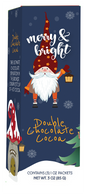Coffee Masters Merry & Bright double chocolate cocoa (3 individual pouches per box) 85 gr., 12/cs