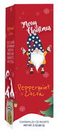 Coffee Masters Merry Christmas peppermint cocoa (3 individual pouches per box) 85 gr., 12/cs