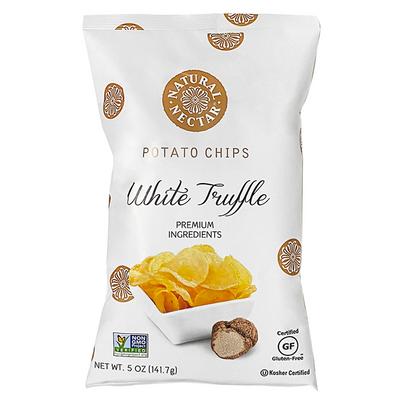 Natural Nectar White truffle potato chips 141 gr., 9/cs