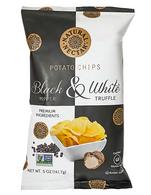 Natural Nectar Black & White truffle potato chips 141 gr., 9/cs