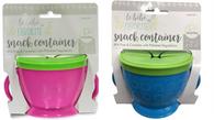 Le BeBe  Snack container - 2 colours Min 4, 2 of ea colour