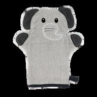Grey Elephant wash mitt 100% Cotton