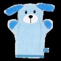 Blue Dog wash mitt  100% Cotton