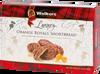 Walkers Luxury Orange Royals Shortbread dipped in milk chocolate 150 gr., 12/cs