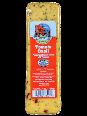 Farmer's Market Cheese - Tomato Basil 198 gr., 12/cs