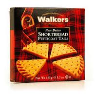 Walkers Pure Butter Petticoat Tails Shortbread  150 gr., 24/cs