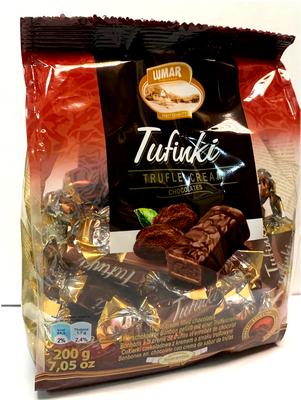 Lumar Tufinki Truffle Cream Chocolates 200 gr., 10/cs