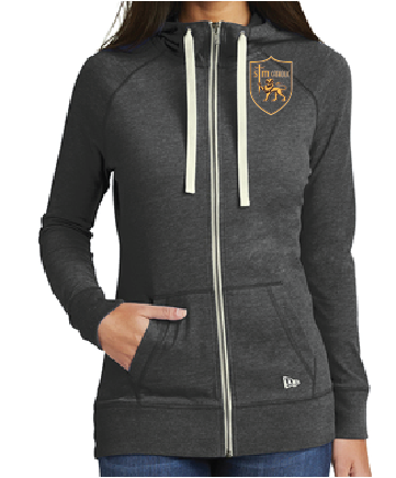 This lightweight hoodie has lived-in, sueded softness and vintage appeal.