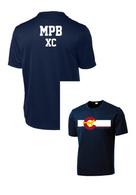 MPB Youth Cross Country Mustang Flag Shirt