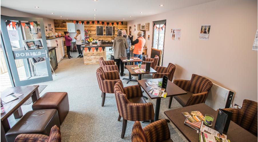 NCAR new cafe by Rubicon Garden Rooms