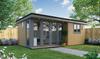 studio style garden room, garden rooms, garden offices, garden buildings, garden studio, garden rooms north wales, garden rooms cheshire