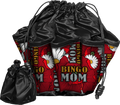 Bingo Mom Floral 10 Pocket Designer Bingo Bag