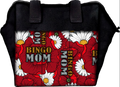 Bingo Mom Floral 6 Pocket Designer Bingo Bag