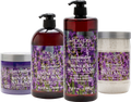 Dead Sea Collection Lavender Bath Set- Salt Scrub