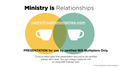 MiR Multiplier Set  for Ministry Is Relationships