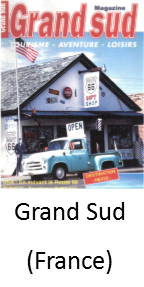 Grand Sud French Magazine featuring Angel Delgadillo and The Original Route 66 Gift Shop