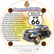 Back of Route 66 Coaster