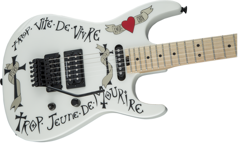 Charvel USA Artist Signature Warren DeMartini Frenchie White