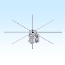 RK-70CM, 70CM RADIAL KIT
