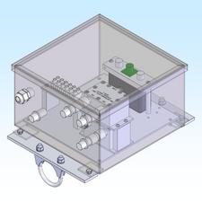 Housing, EME Relay / Preamp Dual Polarity