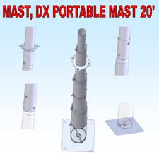 Mast, DX Portable 20'