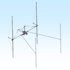 H-Frame & T-Brace Kit for 2MXP28 or XP32 Antennas in a 4 Bay Array for MT-3000