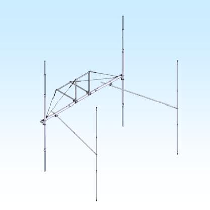 H-FRAME / T-BRACE KIT 2MXP20 2 x 2 (FGHFTB2MXP202X2)