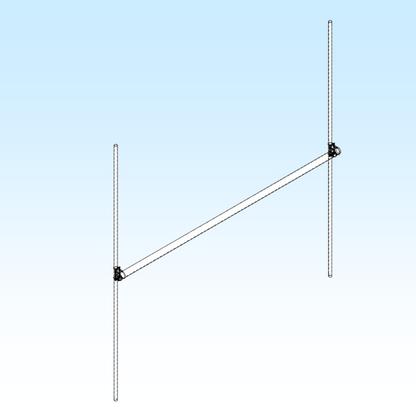 H-FRAME, 2 Meter Economy 2x2 (FGHF2M2X2)