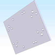 """B.T.M. 6"""" X 8"""" PLATE (M2APT0010)"""