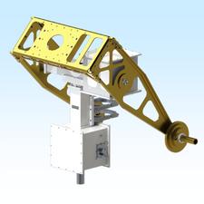 AE1000-D1-W-D-S-H, AE1000, DC MOTOR / SINGLE WORM GEAR / WEATHERPROOF / DISH MOUNT / STEEL / HEATER